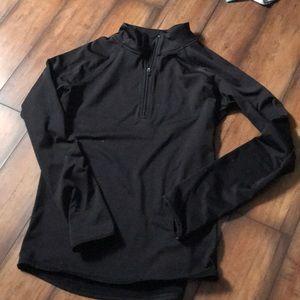 black justice half zip
